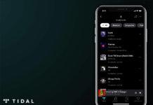 Tidal Credits feature screengrab