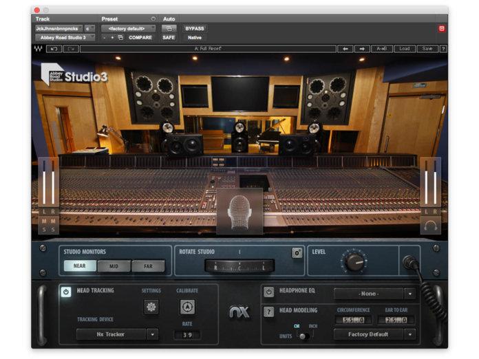 Waves Audio Abbey Road Studio 3 plug-in
