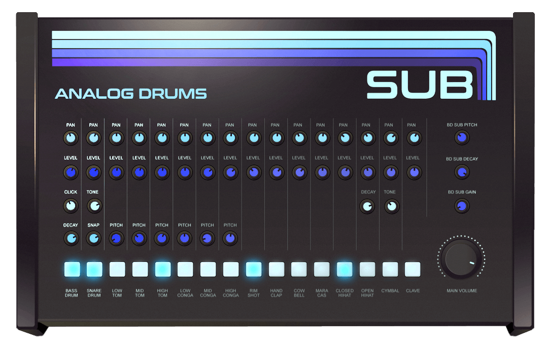 Sampleson releases Sub, a free analogue-inspired virtual