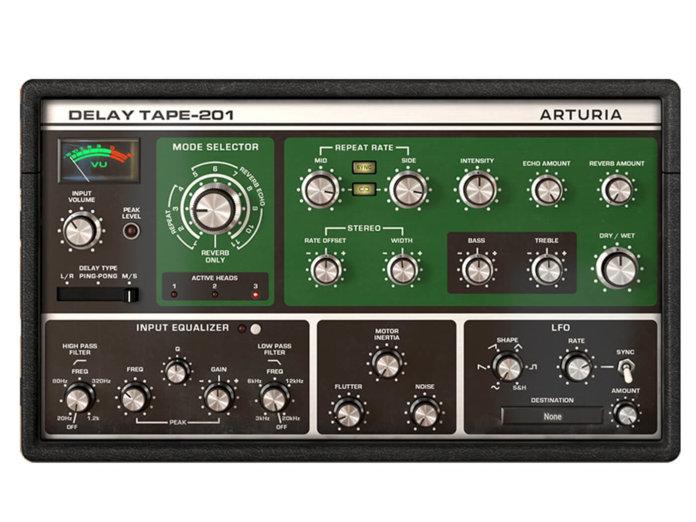 Arturia Delay Tape-201