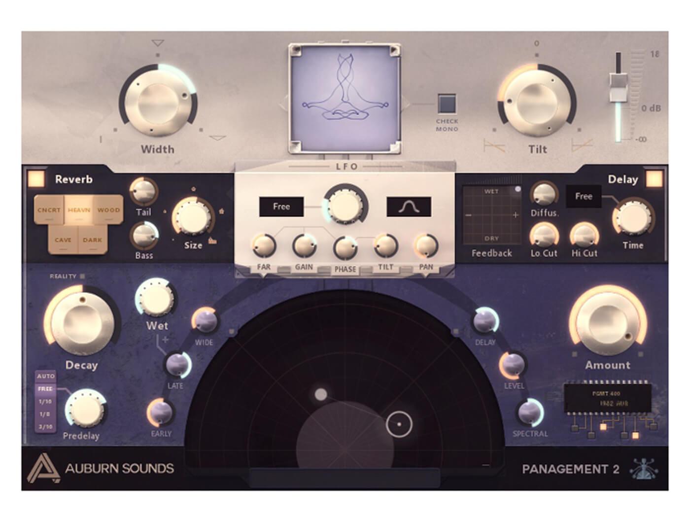 Auburn Sounds' Panagement 2 lets you craft a range of spatial sounds
