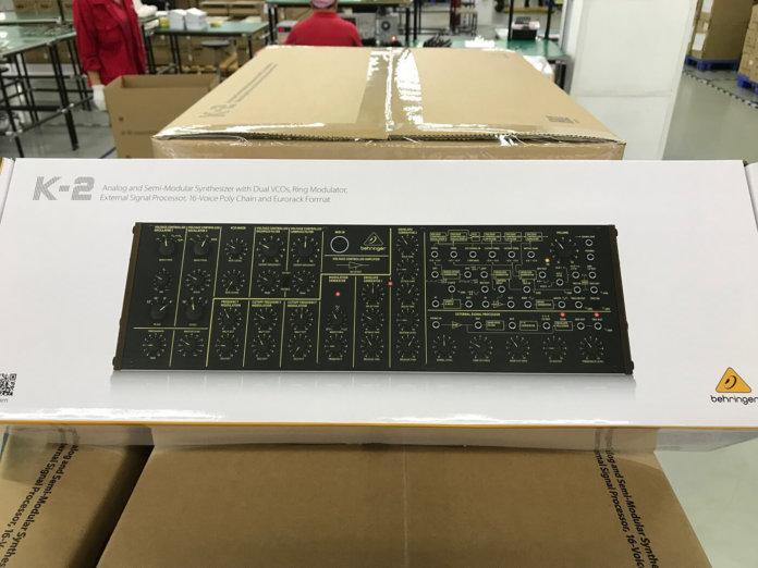 Behringer K-2 synth module