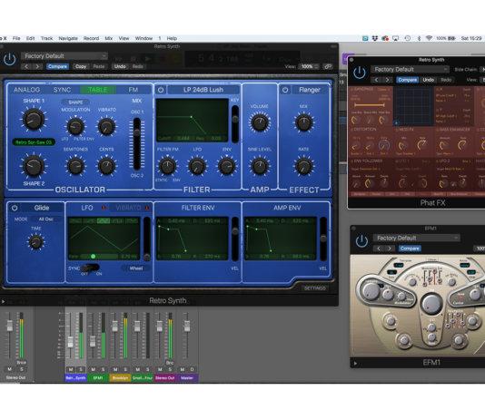 Creating hybrid digital bass in Logic Pro X