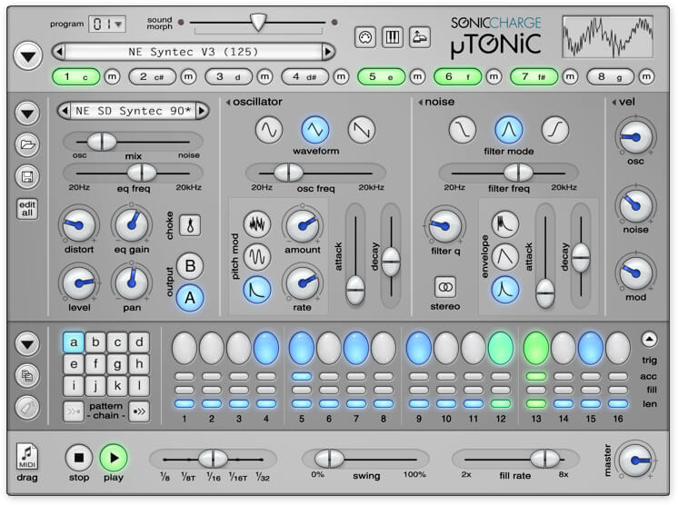 Microtonic Sonic Charge