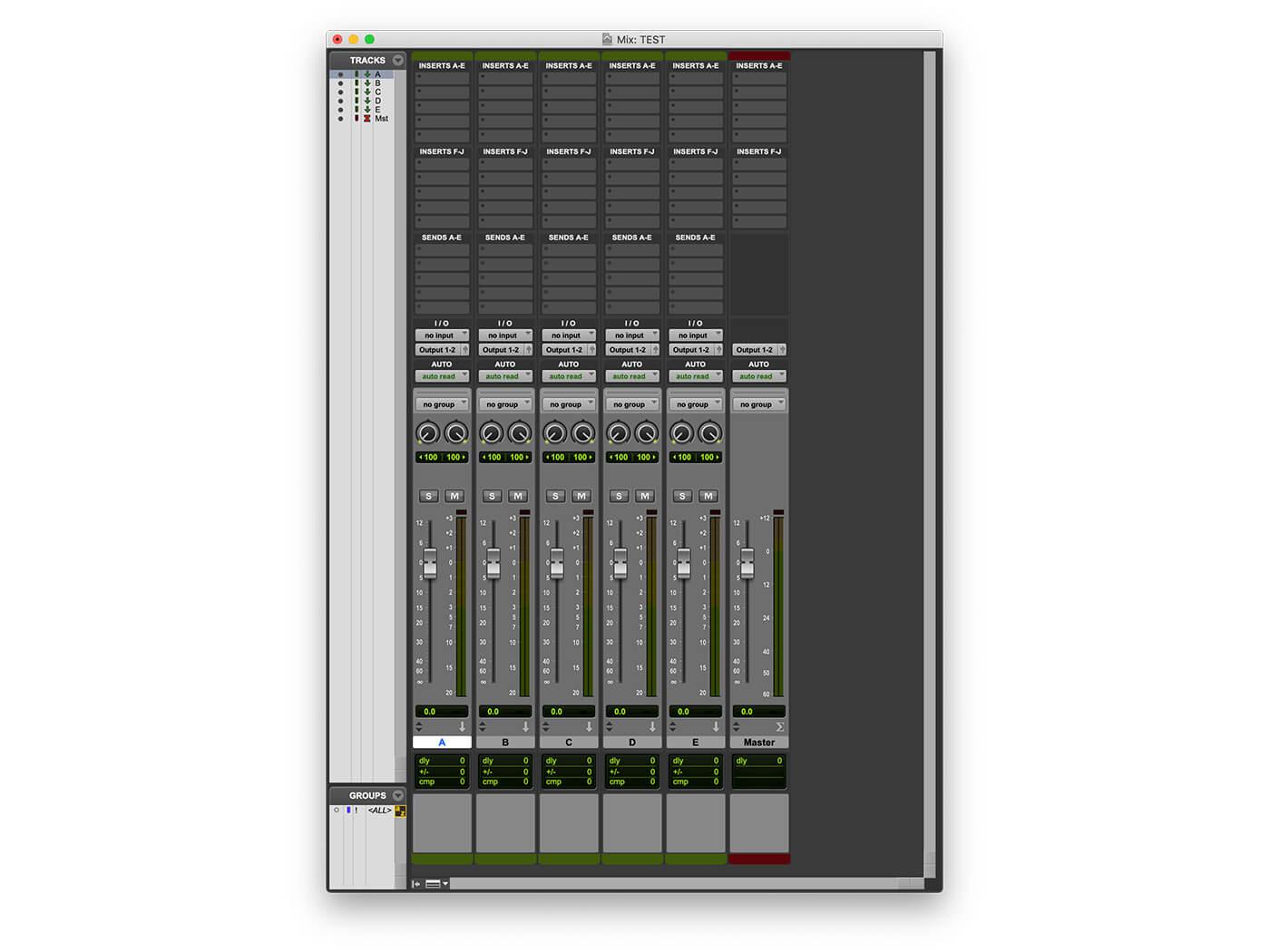 Understanding multi-buss mixing in Pro Tools 2019