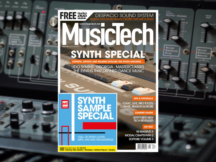 musictech magazine issue 198 synth special