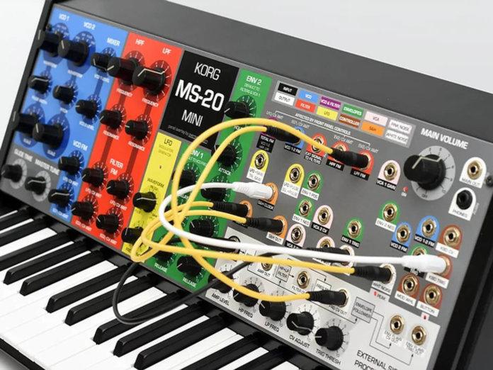 Oversynth overlays for Korg MS-20 Mini