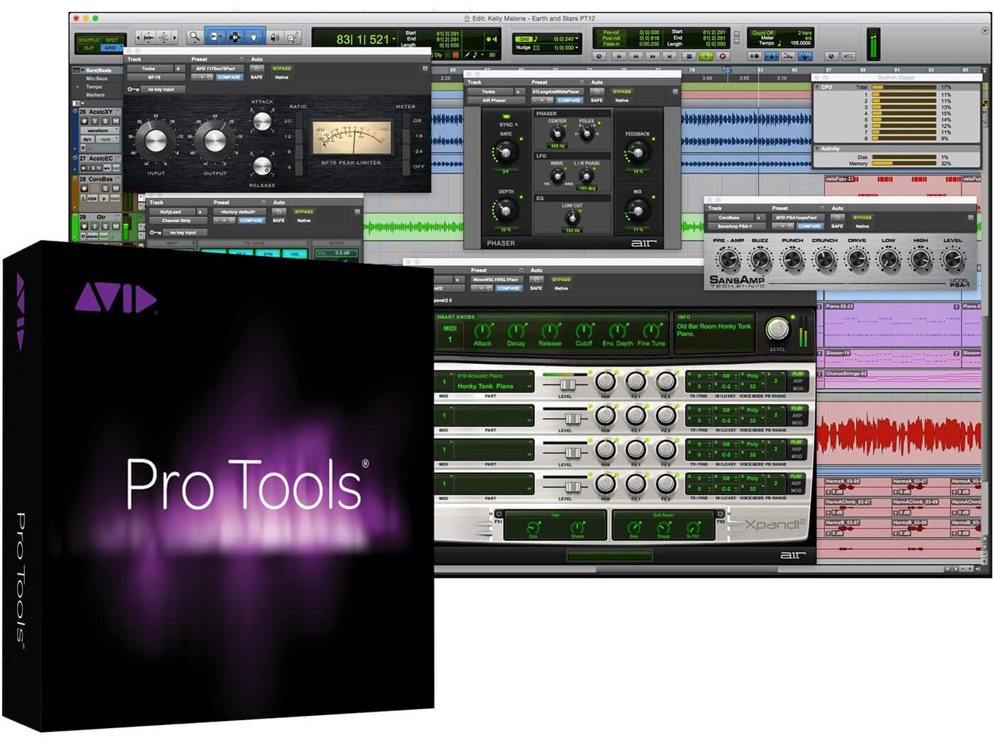 Avid Pro Tools boxset