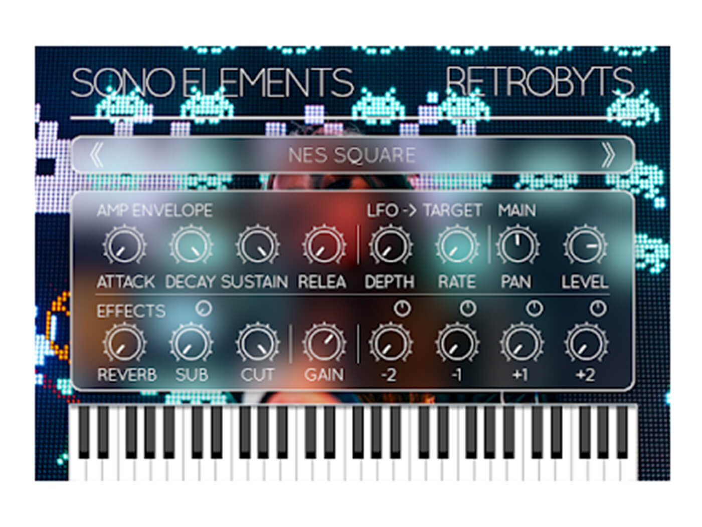 Sono Elements' RetroByts plug-in reproduces 80s chiptune music