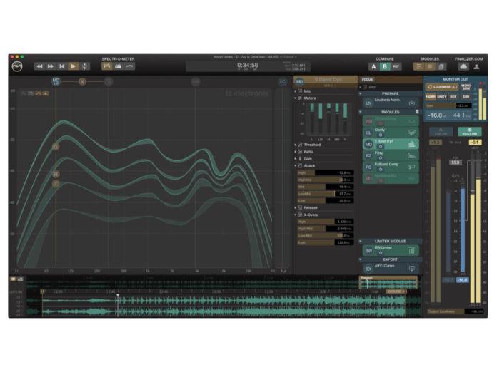 TC electronic finalizer app gui