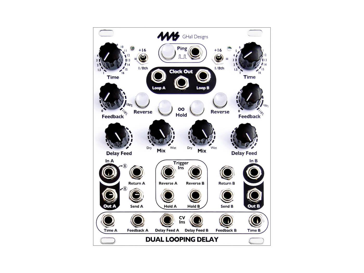 4MS Company Dual Looping delay