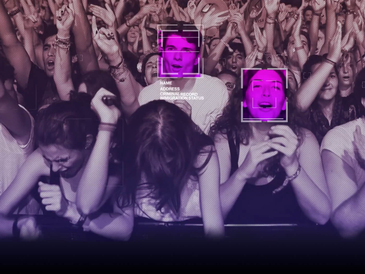 Facial recognition at gigs strongly opposed by musicians