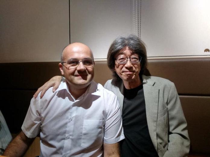 Uli Behringer and Hiroaki Nishijima