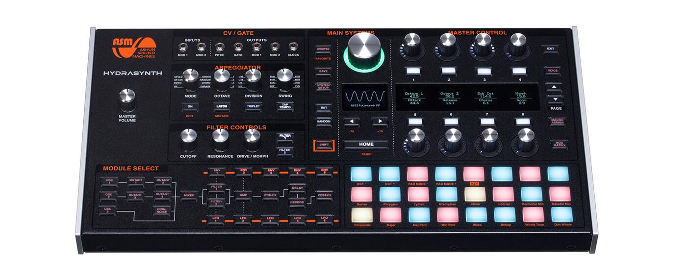 Ashun Sound Machines hydrasynth desktop version