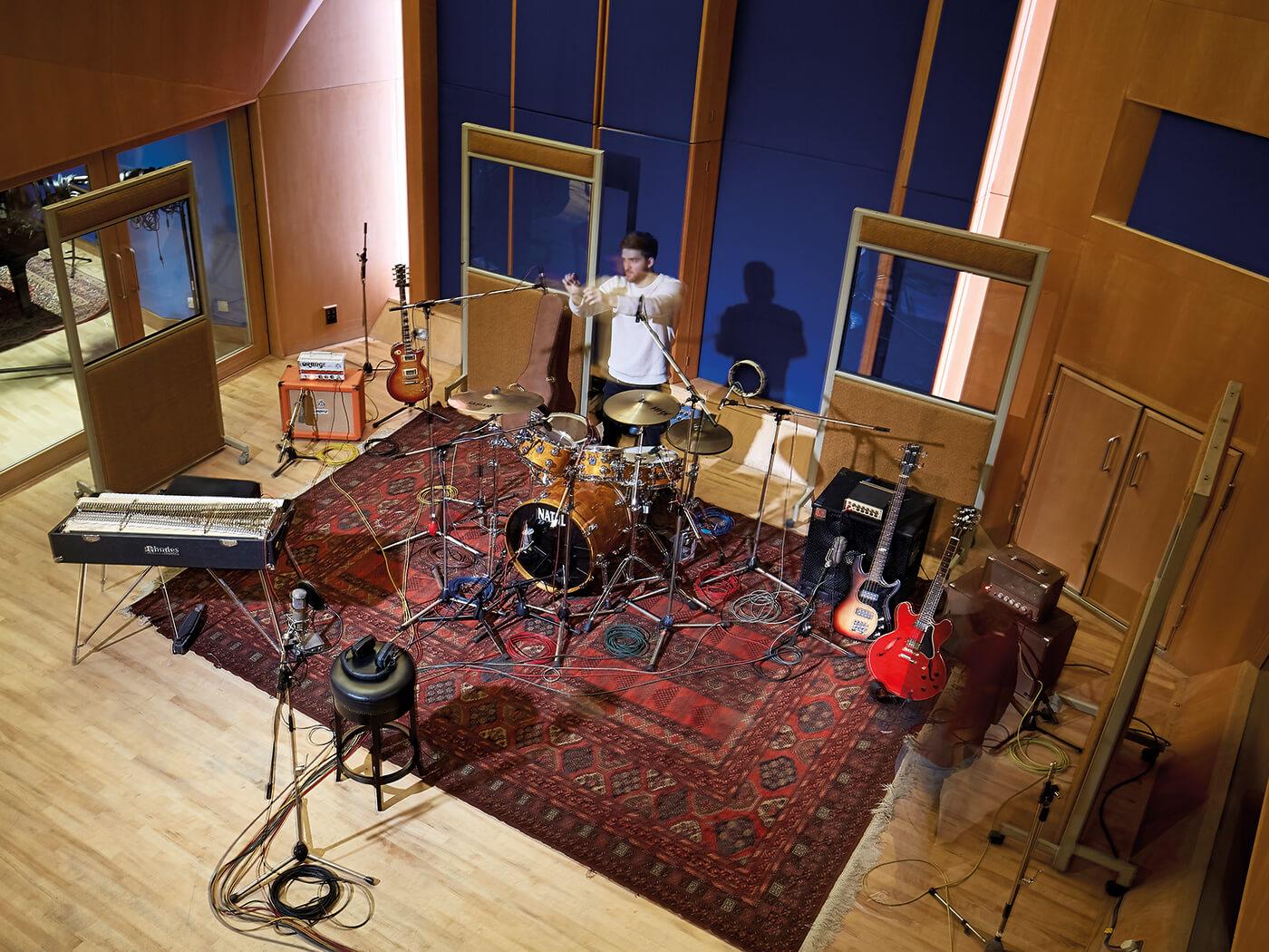 Ask Abbey Road: Matt Jones, mic'ing drum kits
