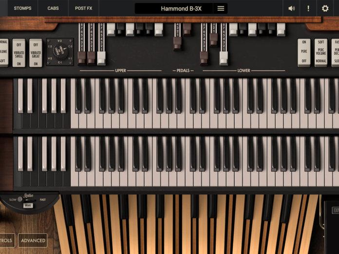 Hammond B-3X GUI 1400x1050