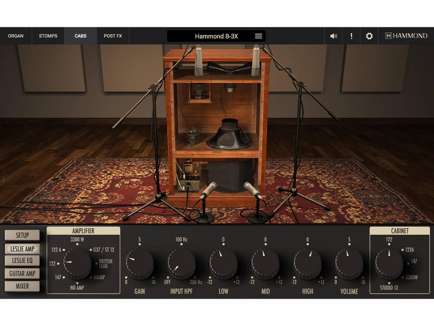 Hammond GUI Leslie 1400x1050
