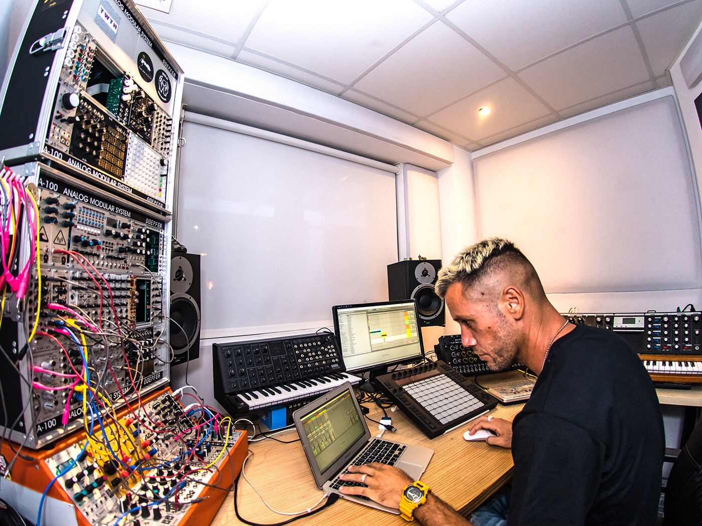 Techno star and Ibiza mainstay Francisco Allendes gives us production tips and a tour of his gear