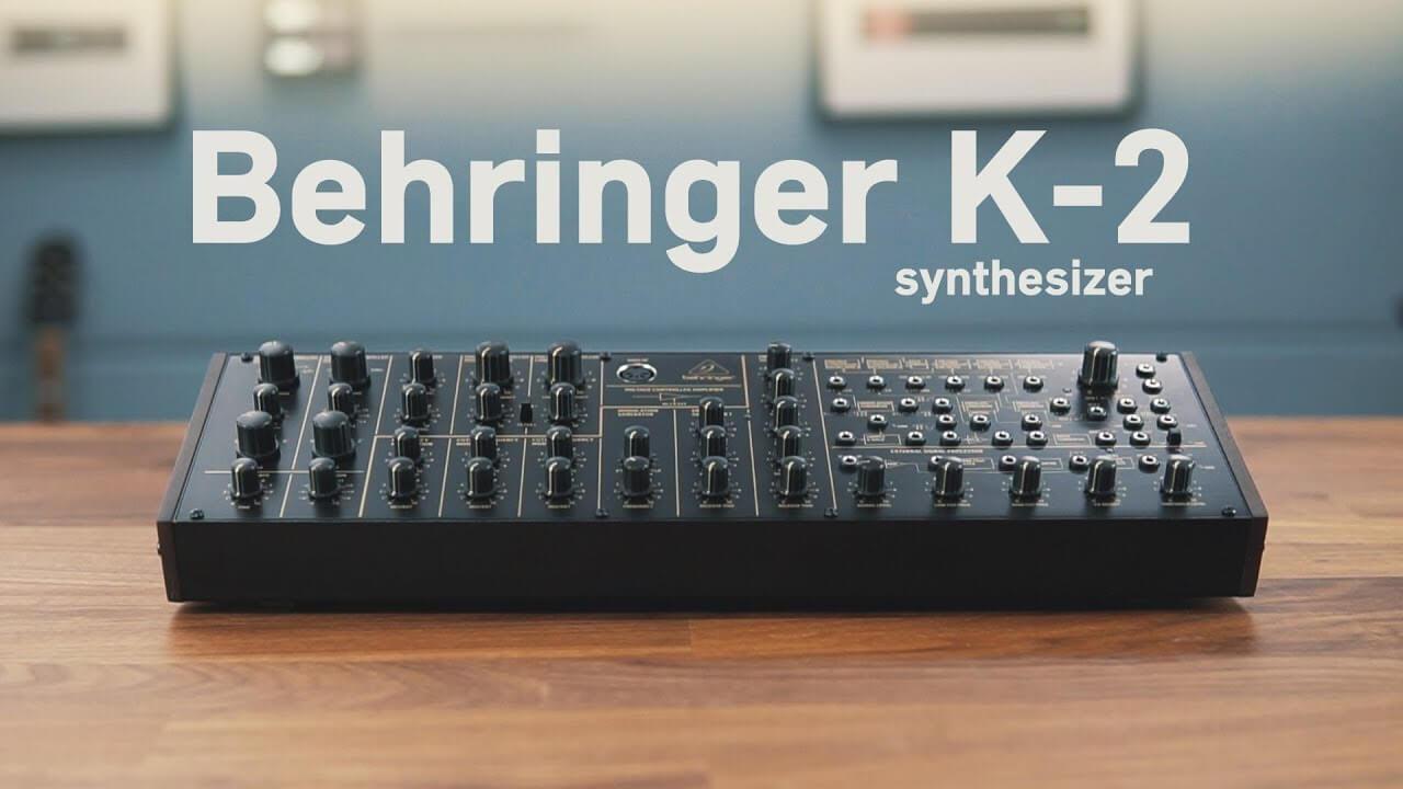 Hear Behringer's K-2 MS-20 clone
