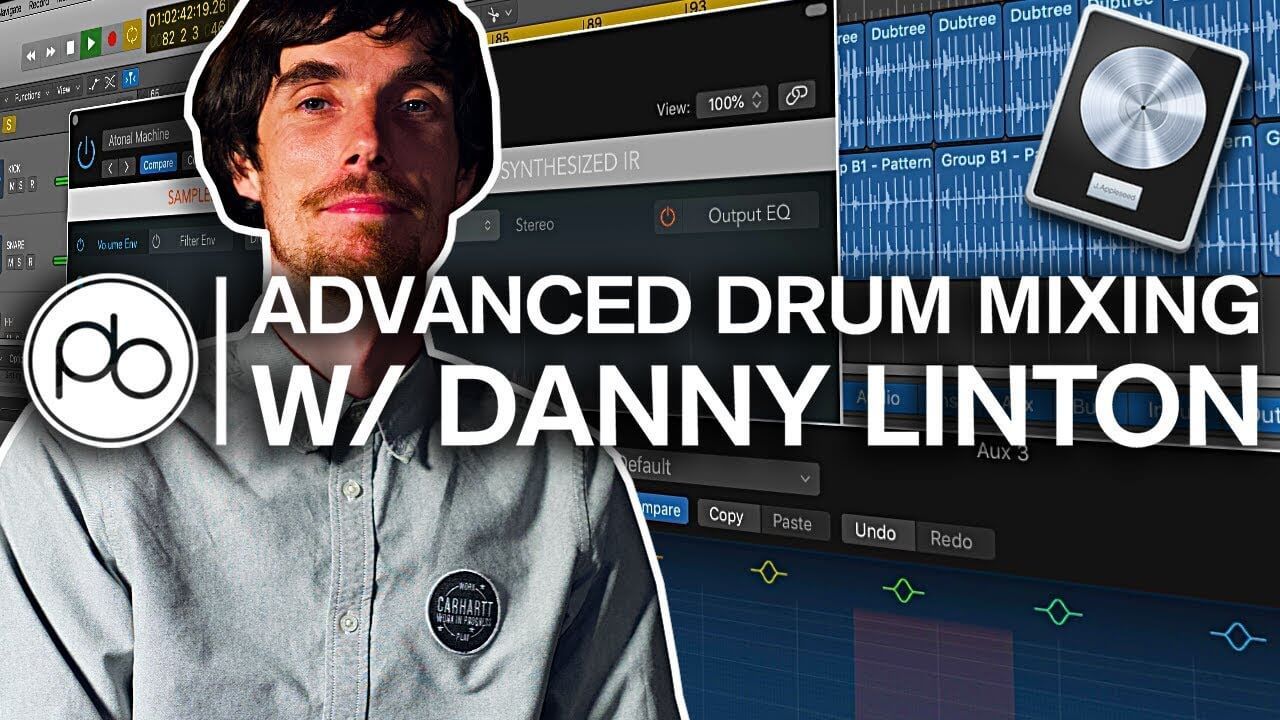 Point Blank Tutorial: Advanced drum mixing with Danny Linton