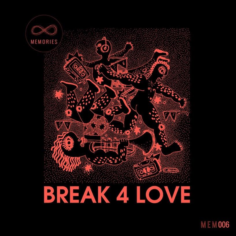 Rocco Rodamaal Break 4 Love Artwork