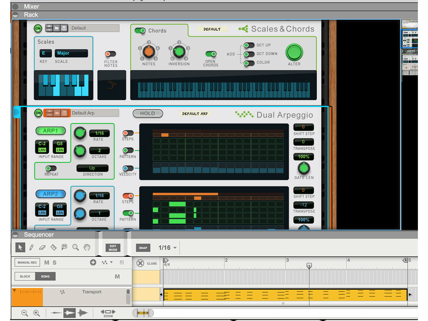 How to compose with Players in Reason 10: step-by-step