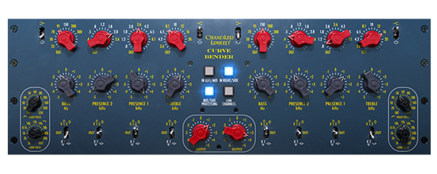 Softube makes Chandler Limited Curve Bender EQ available in native format