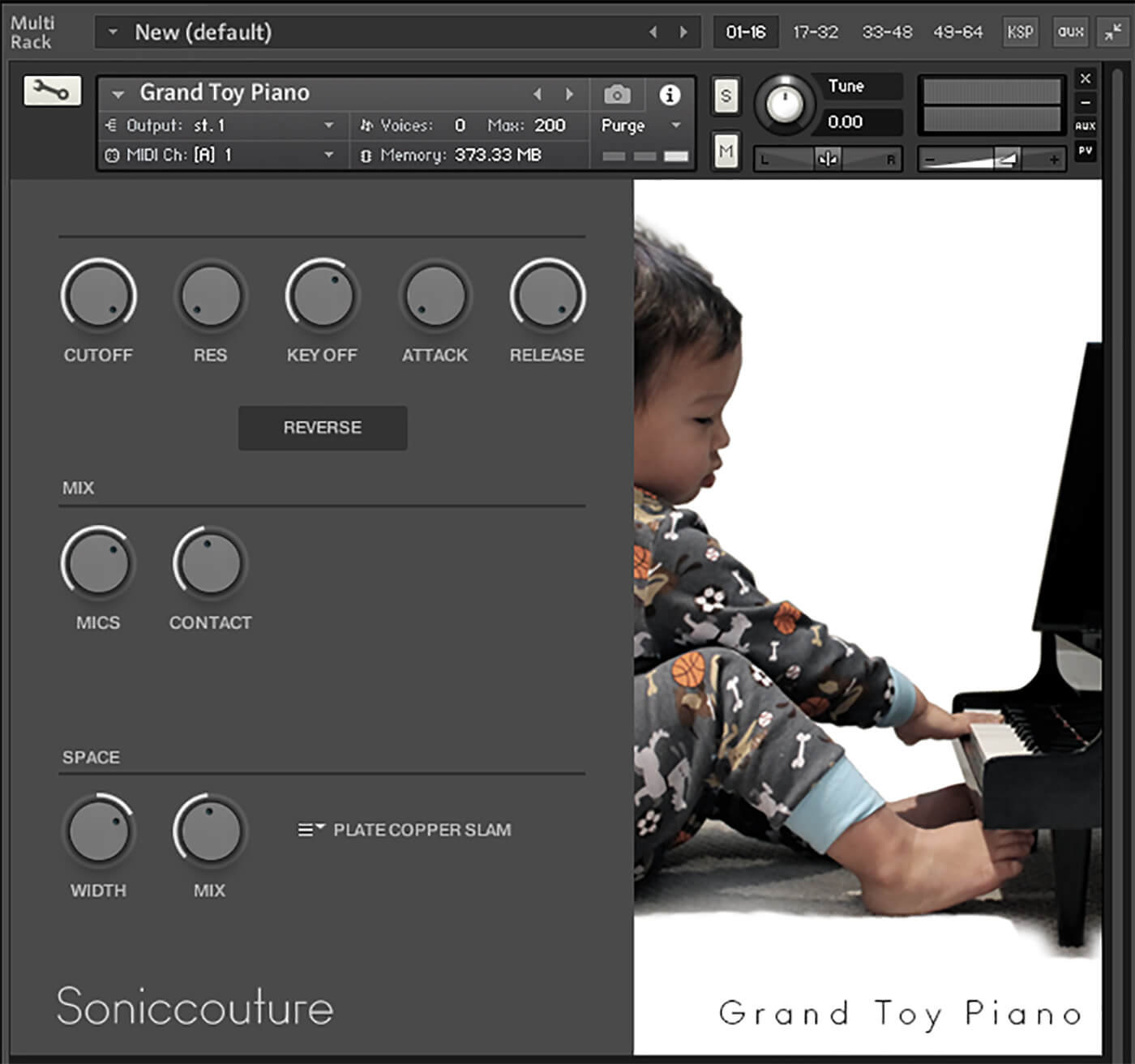 Soniccouture Toy Pianos