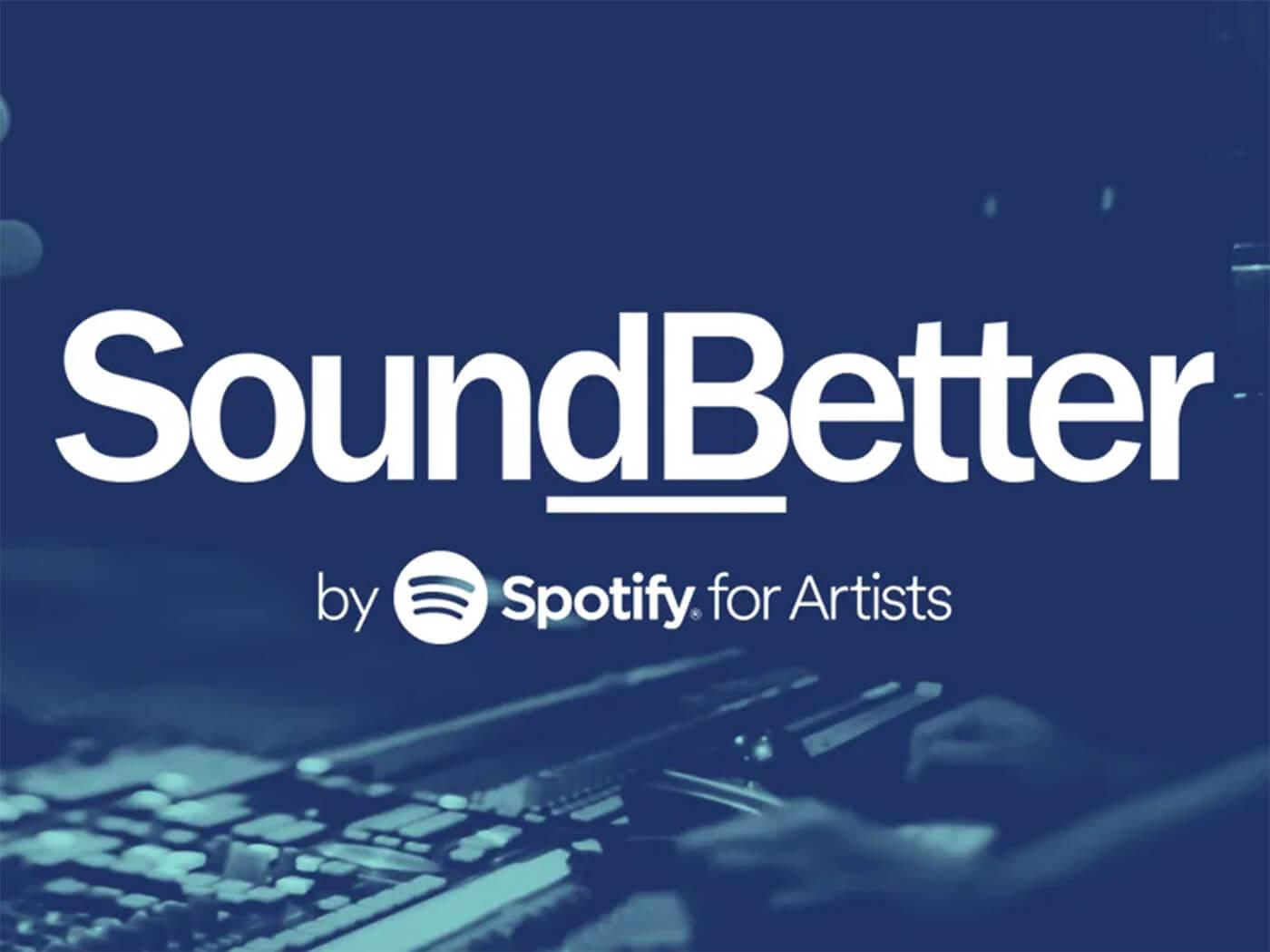 Spotify SoundBetter banner