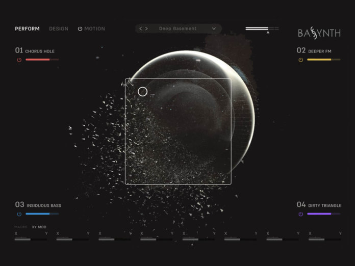 Wave Alchemy Bassynth GUI