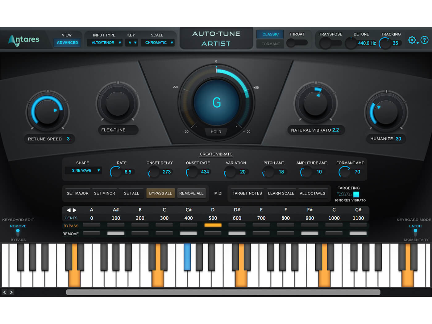 Antares Artist (New GUI Advanced View))