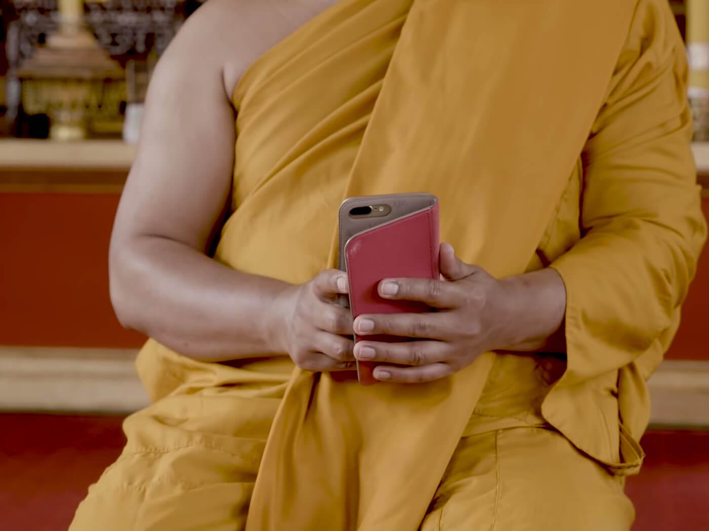 Buddhist Monk INSTA DJ