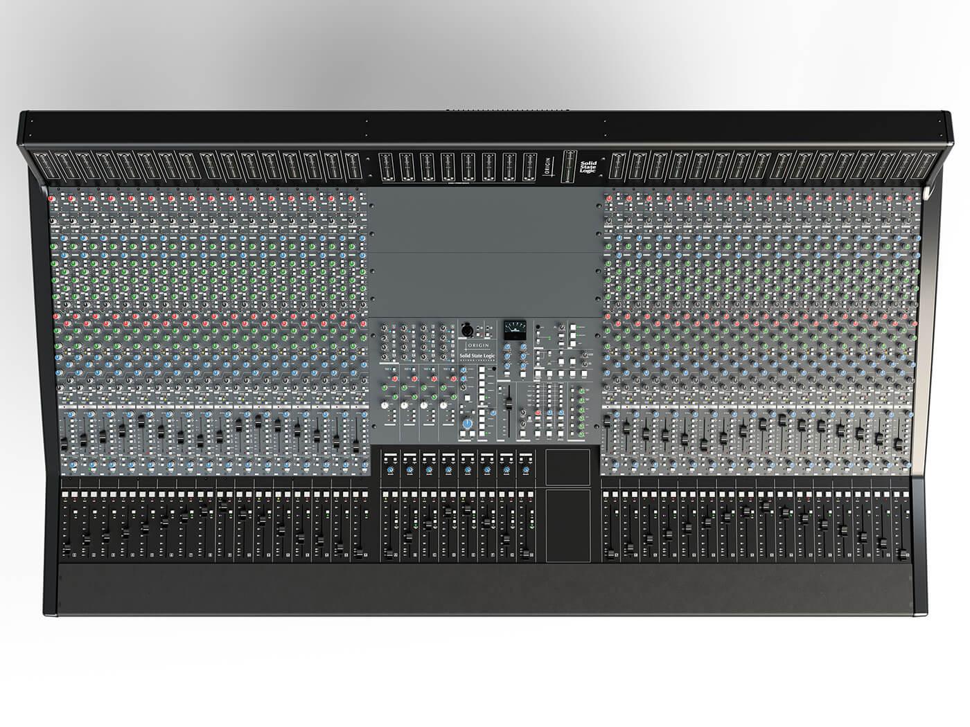 SSL Origin Console top-down