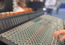 The SSL Origin mixing console