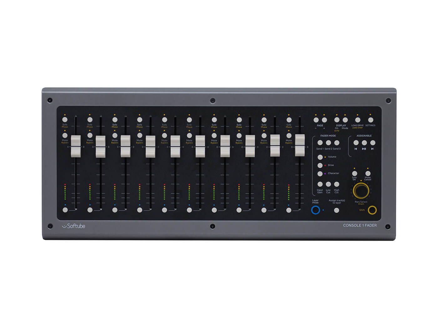 Softube launch Console 1 Fader controller