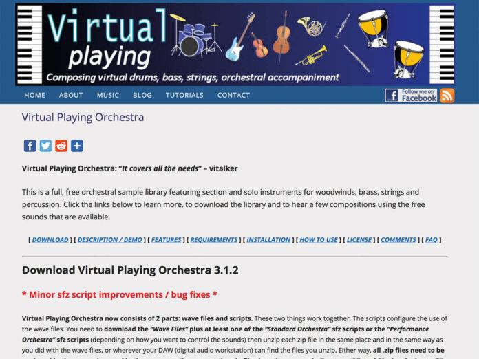 Virtual Playing Orchestra