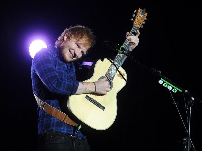 Ed Sheeran in Prague 2015