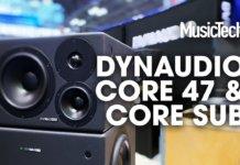 Dynaudio Core 47 and Core Sub