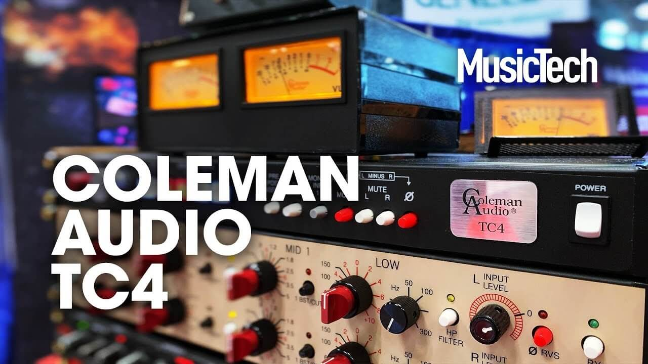 Coleman Audio TC4 is a patch bay and monitor controller