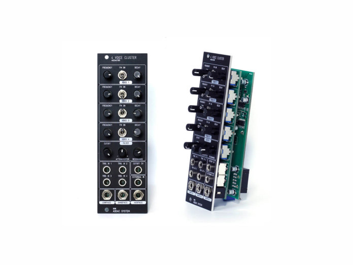ADDAC System 4 Voice Cluster