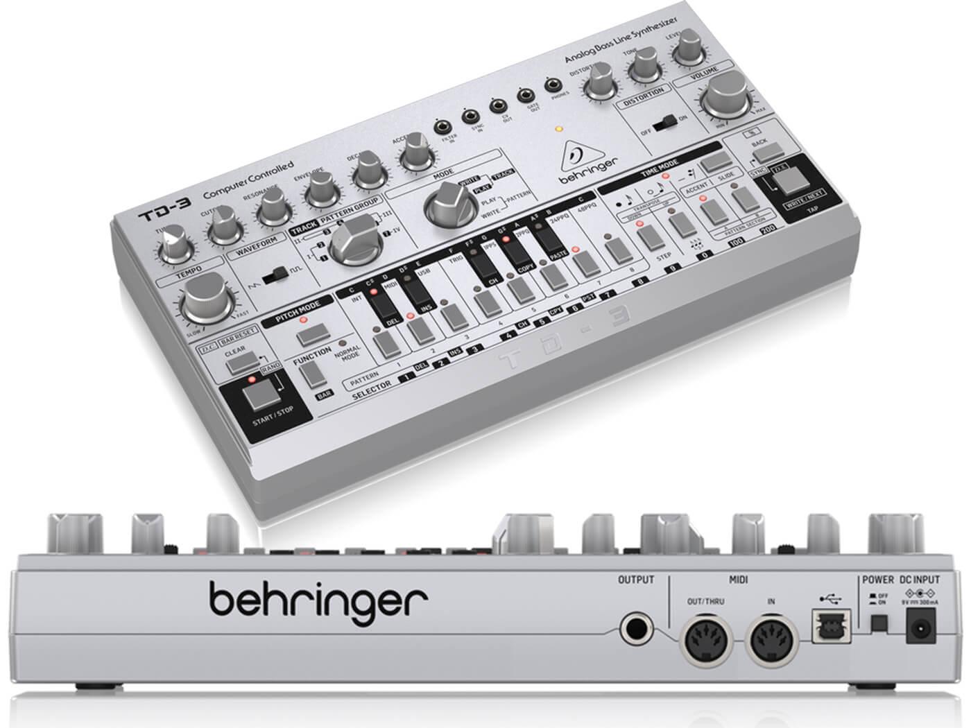 Behringer TD-3 leak