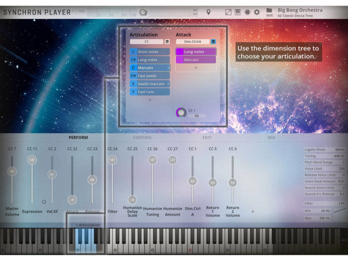 VSL Big Bang Orchestra (GUI)