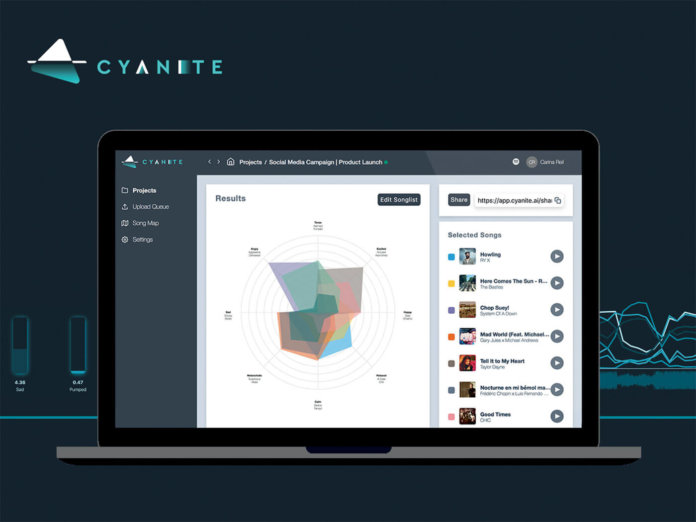 Cyanite GUI