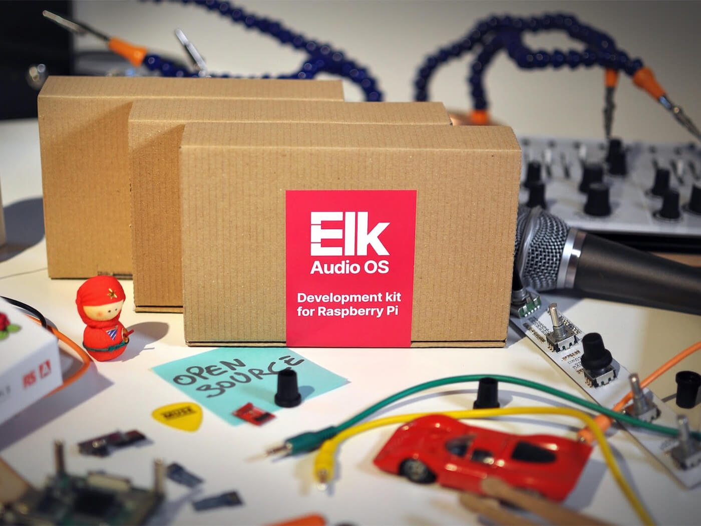 Elk Audio OS goes open source with a Raspberry Pi development kit