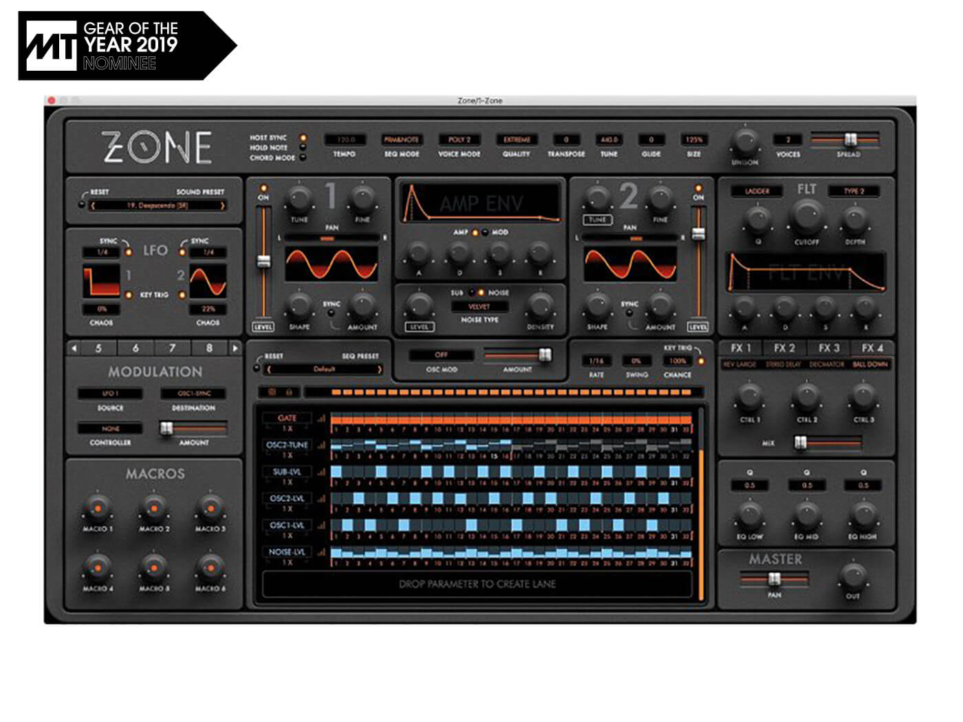 Gear Of The Year: Vote for the best software synthesizer of 2019