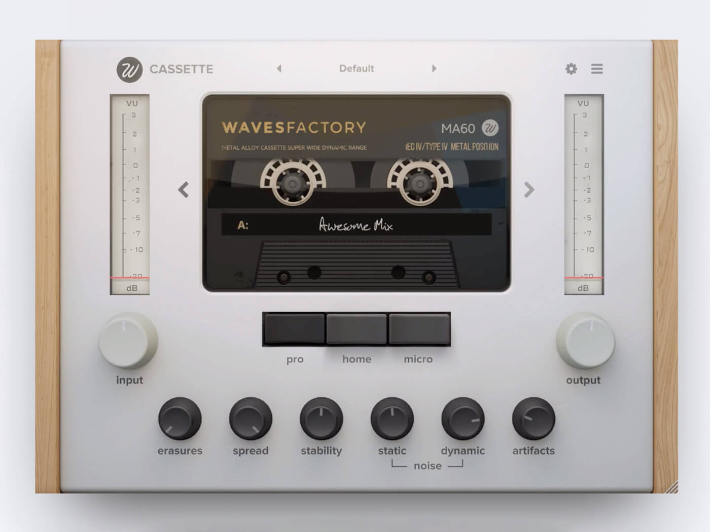 Wavesfactory goes retro with Cassette plug-in