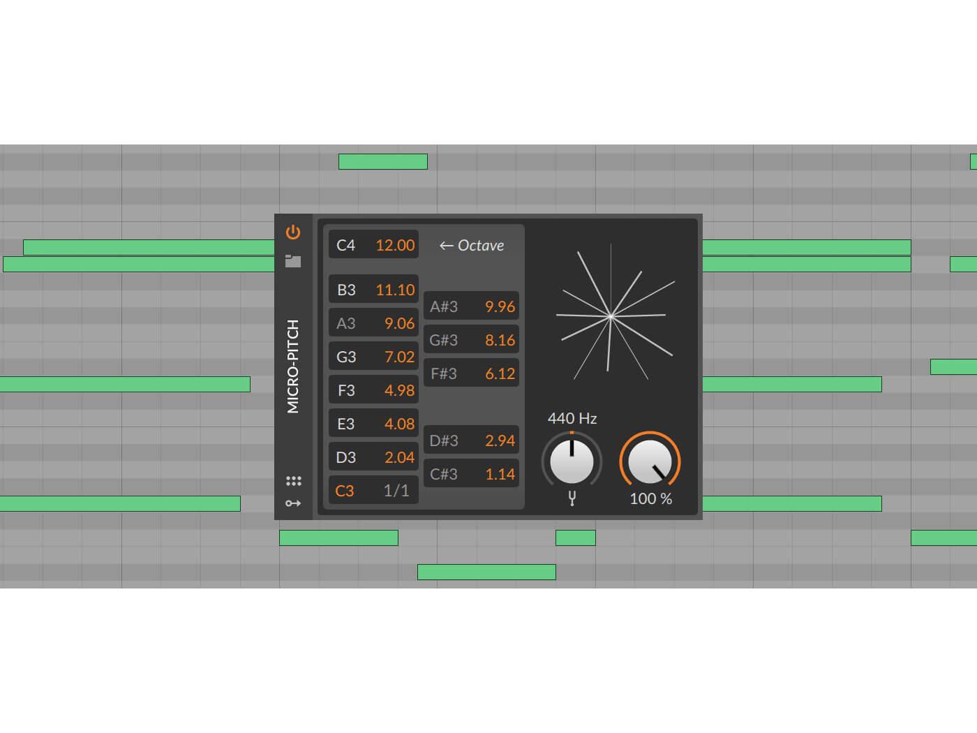 Bitwig 3.1 MicroPitch