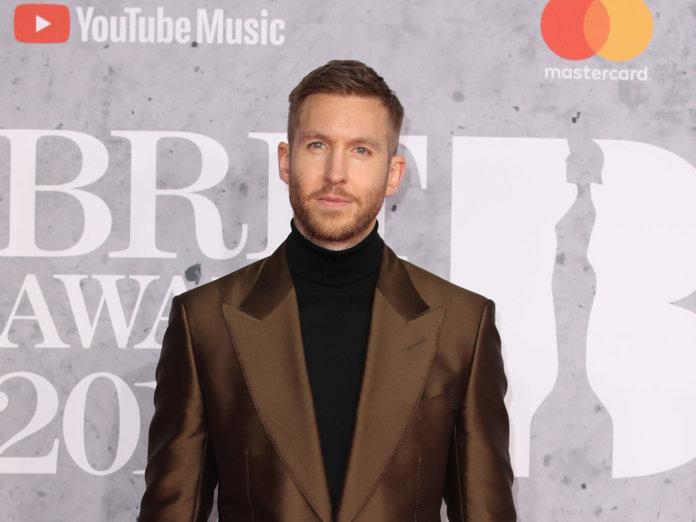 Calvin Harris at the Brit Awards 2019