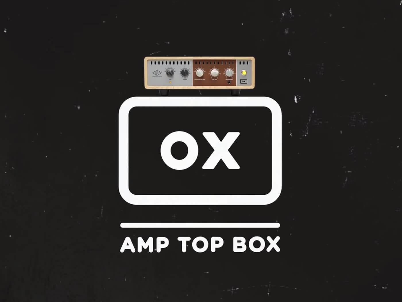 Universal Audio OX amp top box 1.2