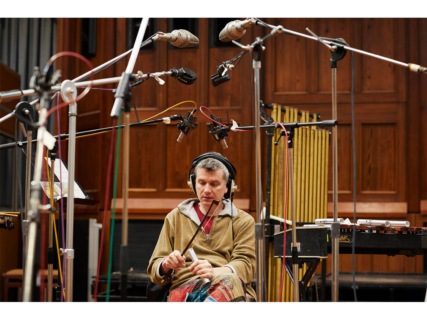 Spitfire Audio Percussion Swarm Recording